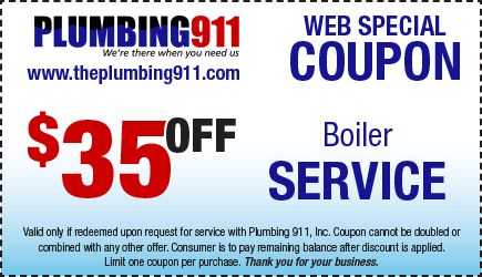 Boiler Service Coupon Plumbing 911