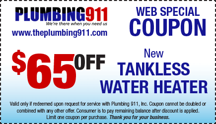 Tankless Water Heater Installation Plumbing 911