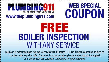 Boiler Inspection Coupon Plumbing 911