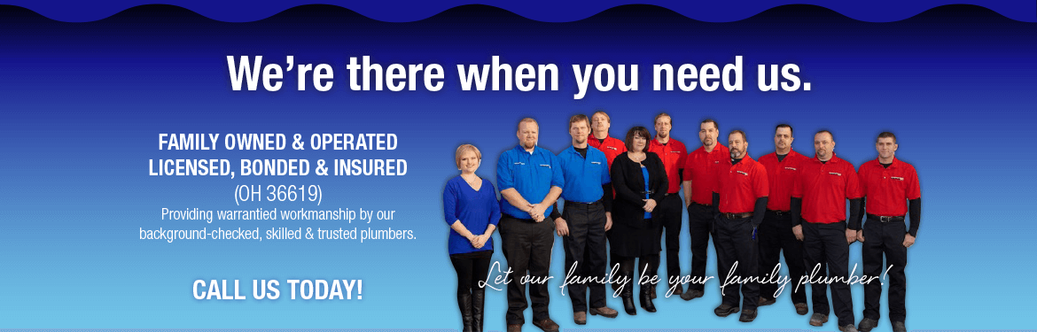 Family Owned & Operated Plumbing