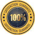 100% Satisfaction Gurantee